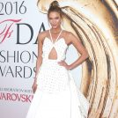 Karlie Kloss at the 2016 CFDA Fashion Awards in New York City.  Pictured: Karlie Kloss Ref: SPL1296572  060616   Picture by: Splash News  Splash News and Pictures Los Angeles:310-821-2666 New York:212-619-2666 London:870-934-2666 photodesk@splashnews.com