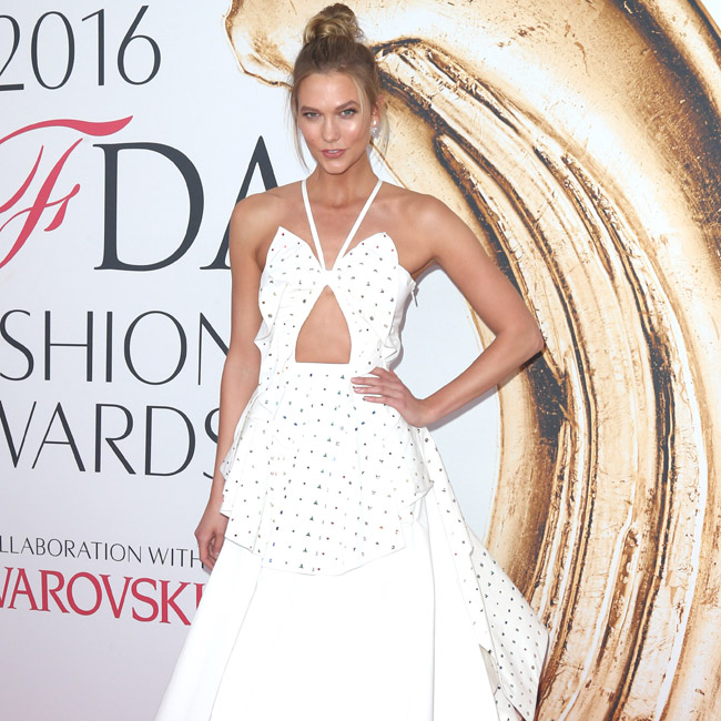 Karlie Kloss at the 2016 CFDA Fashion Awards in New York City. Pictured: Karlie Kloss Ref: SPL1296572 060616 Picture by: Splash News Splash News and Pictures Los Angeles:310-821-2666 New York: 212-619-2666 London: 870-934-2666 photodesk@splashnews.com
