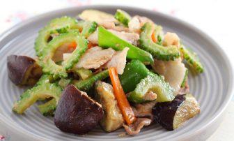 【旬菜】むくみをトリプルアタック!「ゴーヤーと豚肉の白みそ炒め」