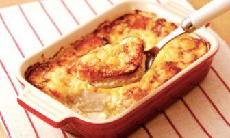 【旬菜】和テイストの「豆腐のクリームグラタン」