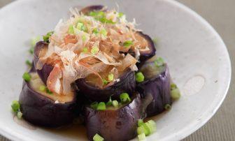 【旬菜】副菜に活躍しそうな「蒸しなすのポン酢和え」