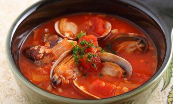 【旬菜】貧血予防に役立つ。ミネラルたっぷりな「あさりたっぷりトマトスープ」