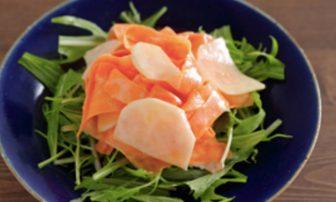 【旬菜】お腹に優しい「ニンジンとかぶのヨーグルトサラダ」