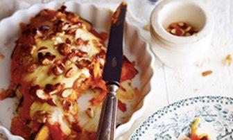 【旬菜】オメガ3やビタミンEを摂取できる「カボチャとナッツのグラタン」