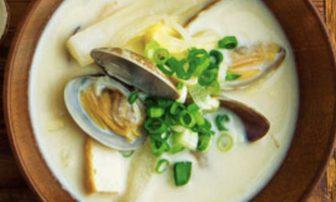【旬菜】ミネラルと食物繊維を摂る。アサリと白菜の「和風クラムチャウダー」