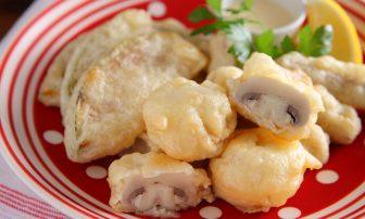 【旬菜】冷え改善や風邪予防にも「カボチャとゴボウとマッシュルームのセモリナ粉フリット」