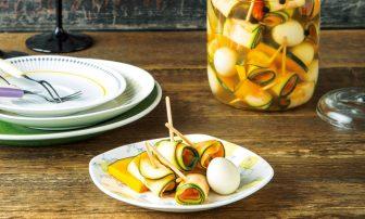 【旬菜】お酢が脂肪の分解を助けてくれる「ぐるぐるピクルス」