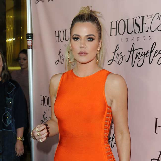 Khloe Kardashian attends House of CB event on Melrose. Pictured: Khloe Kardashian Ref: SPL1302309 140616 Picture by: Aficionado Group / Splash News Splash News and Pictures Los Angeles:310-821-2666 New York: 212-619-2666 London: 870-934-2666 photodesk@splashnews.com