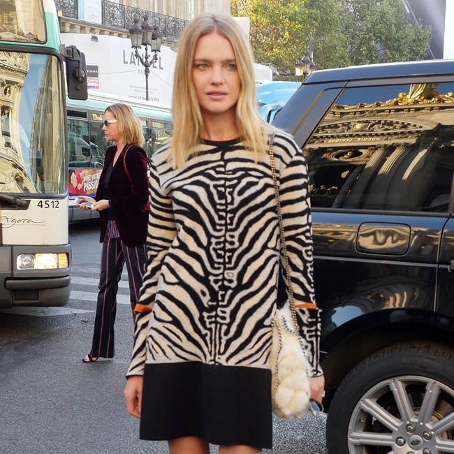 Natalia Vodianova seen at the Stella McCartney show during Paris Fashion Week on October 3, 2016 in Paris, France. Pictured: Natalia Vodianova Ref: SPL1367149 031016 Picture by: GoldStar Media / Splash News Splash News and Pictures Los Angeles:310-821-2666 New York: 212-619-2666 London: 870-934-2666 photodesk@splashnews.com
