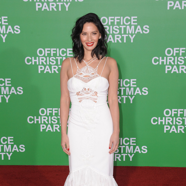 December 7, 2016 - Hollywood, California, U.S. - Olivia Munn attends The Los Angeles Premiere of OFFICE CHRISTMAS PARTY at Regency Village Theater in Westwood, California on December 7, 2016. 2016 (Credit Image: © Dave Longendyke/Globe Photos via ZUMA Wire)