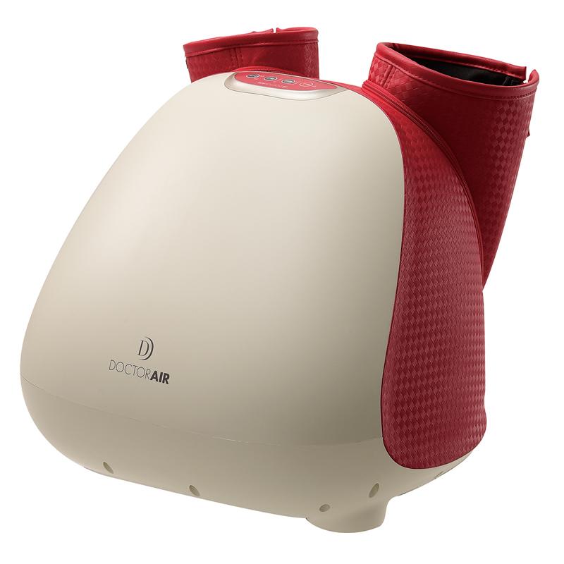 ファスナー付きで足の出し入れもスムーズ。「3Dフットマッサージャー」3万9800円/ドクターエア