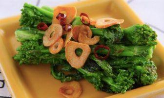 【旬菜】むくみ解消や糖質燃焼にも◎な「菜の花のペペロンチーノ」