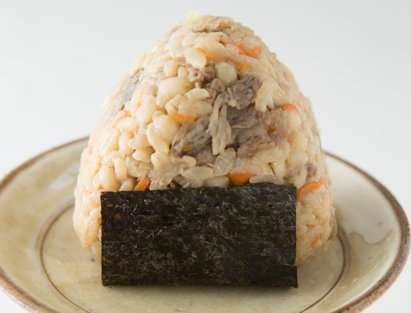 ごぼうと牛肉の炊き込みご飯