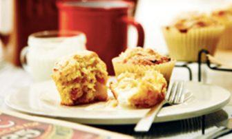 【旬菜】ピクニックやブランチに。新玉ねぎが甘い「玉ねぎとベーコンのチーズマフィン」