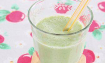 【旬菜】代謝アップに役立つ「アスパラとりんごのスムージー」