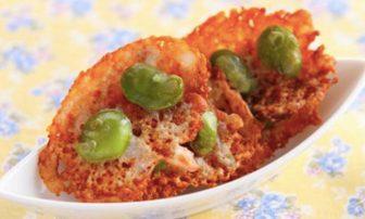 【旬菜・そら豆】ダイエット中に◎の肴「そら豆のかりかりちーず 」