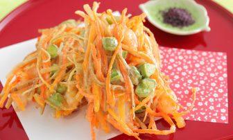【旬菜・そら豆】フライパンで簡単にできてヘルシーな「野菜のかき揚げ」