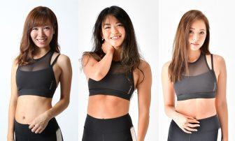 最新の体組成計で筋トレ女子のボディを解析!【美腹筋チャレンジ】投票は今日まで