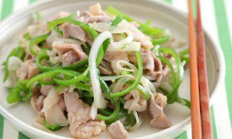 【夏野菜の痩せレシピ】糖質の代謝を促す「ピーマンと豚肉のしょうが炒め」