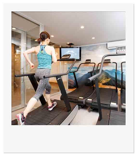 高地トレーニング専門スタジオ「ハイアルチ」では低酸素状態でトレーニングすることで、高い運動効果を得ることができる