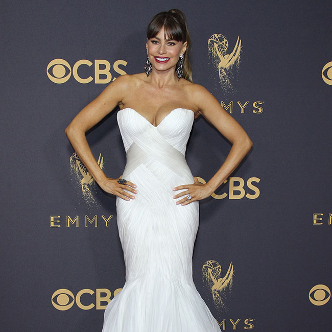 ARRIVALS: The 69th Annual Primetime Emmy Awards honoring the best in U.S. prime time television programming from June 1, 2016 until May 31, 2017, as chosen by the Academy of Television Arts & Sciences. Held at the Microsoft Theatre in Los Angeles, California Pictured: Sofia Vergara Ref: SPL1581807 170917 Picture by: Jen Lowery / Splash News Splash News and Pictures Los Angeles:310-821-2666 New York:212-619-2666 London:870-934-2666 photodesk@splashnews.com