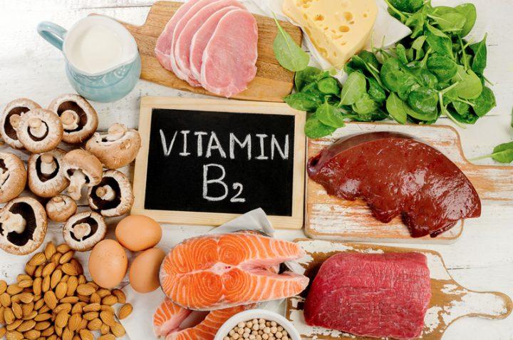ビタミンB2を含む食べ物の画像