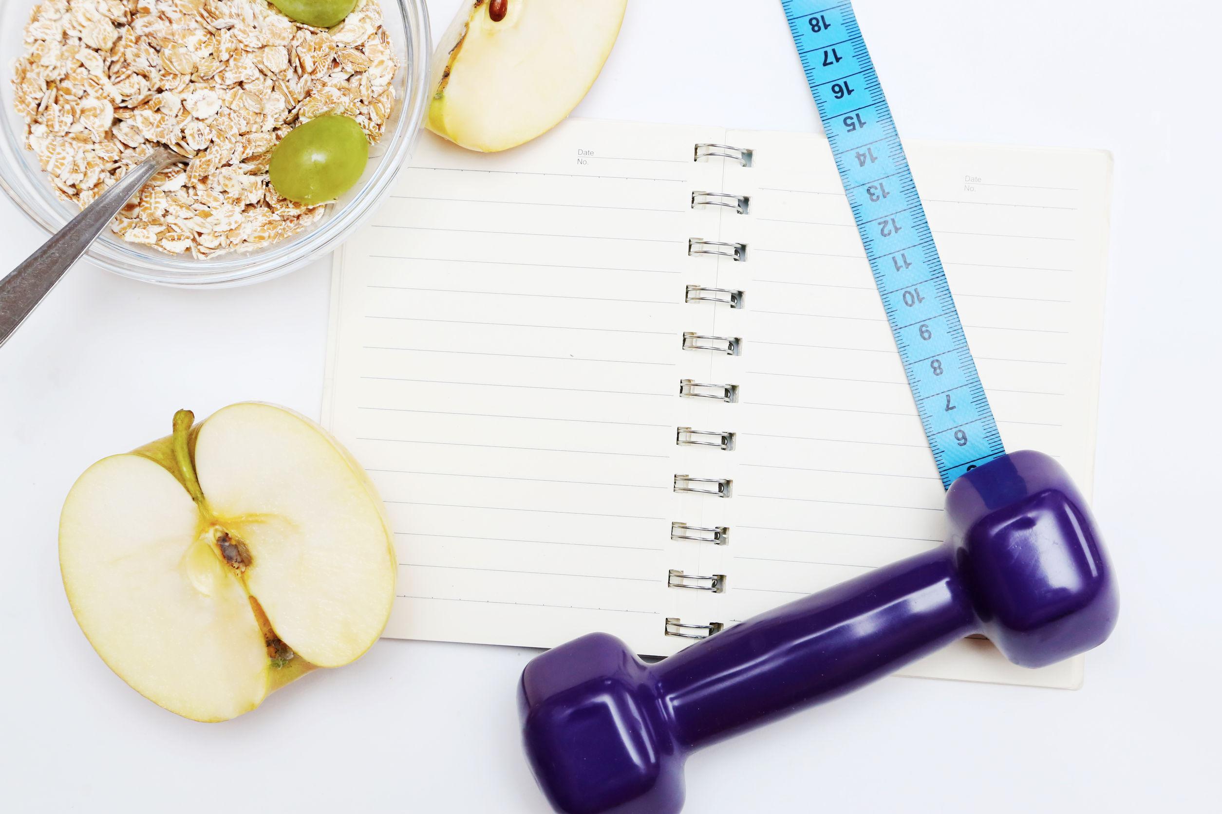 triocean150100192.jpg - diet diary, healthy lifestyle concept. add own text.