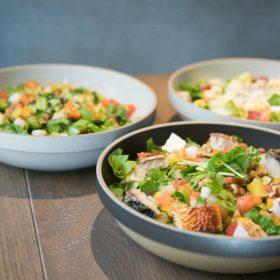 おいしさとヘルシーを両立!毎日食べたい「サラド」の【野菜ランチ】
