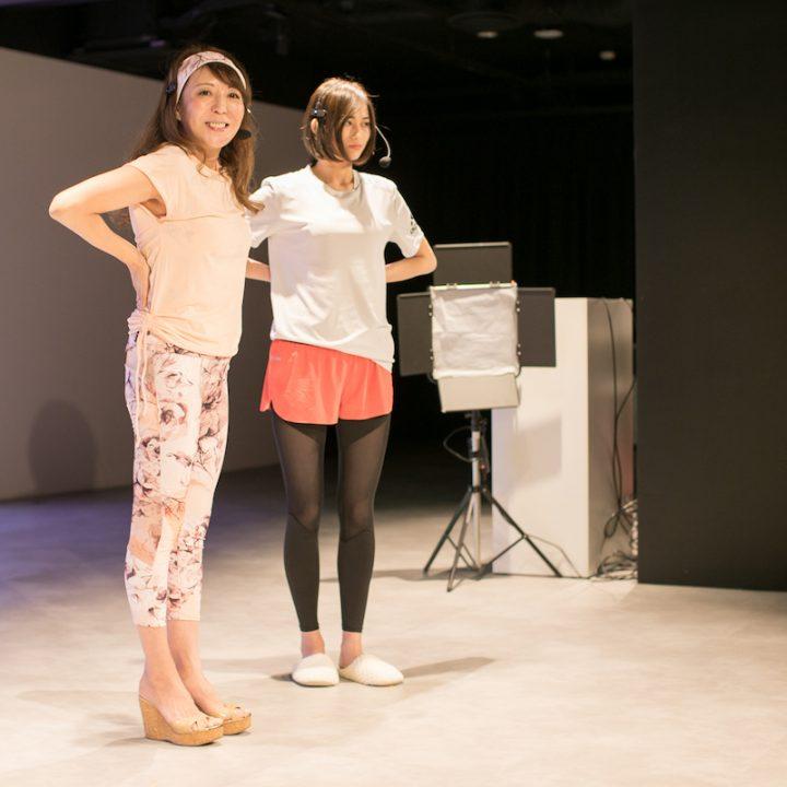 シュミッツ千栄子さんと阿部桜子さん