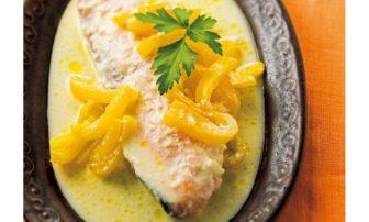 【冷凍からのレンチン!やせおか】良質なたんぱく質&ビタミンを摂取「さけのマヨーグルト」レシピ