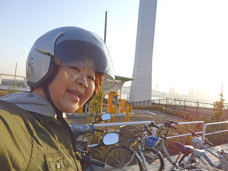 レンタルバイクでお出かけ