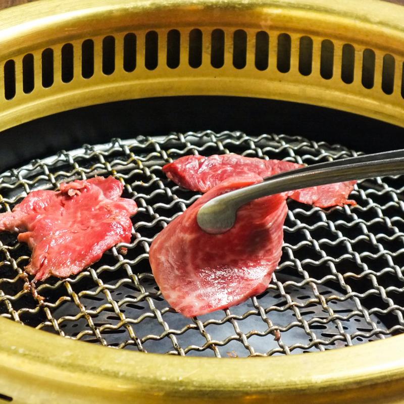 焼肉店「勇里庵~YURIAN~」の肉の力で健康促進コースででてくる赤身