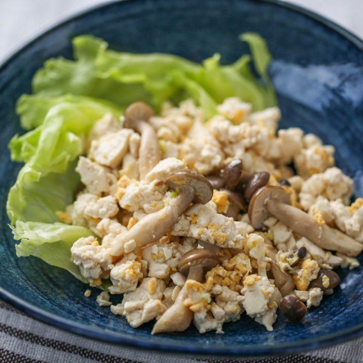 煎り豆腐チャーハン