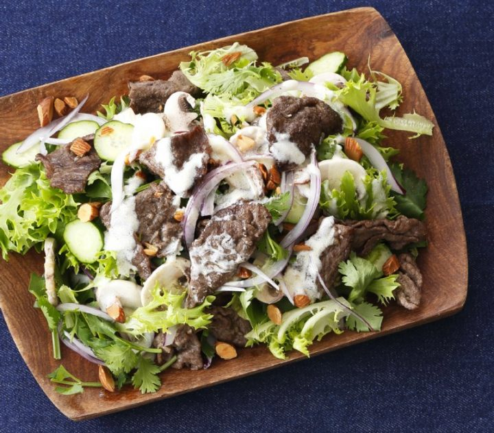 牛肉のモロッコ風サラダ