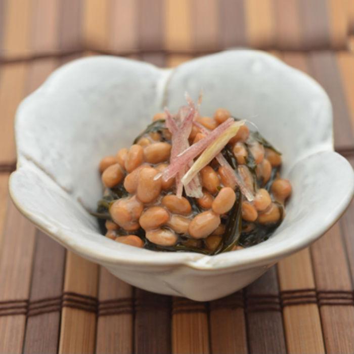 アーモンドオイルアカモク納豆