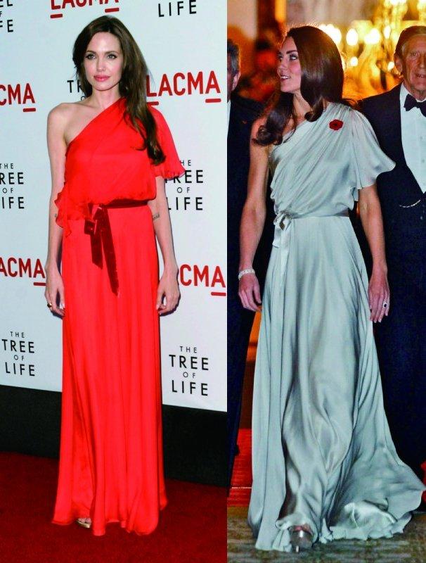アンジェリーナ・ジョリーとキャサリン英王子妃
