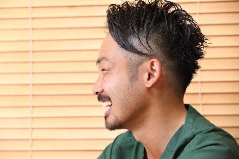 関口賢氏の横顔
