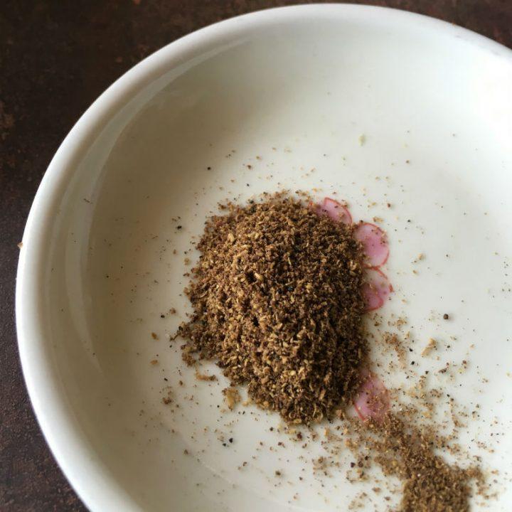 器に盛られた粉山椒