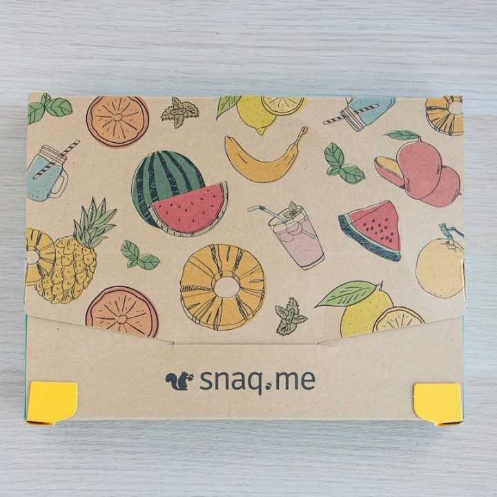 「snaq.me」の外箱