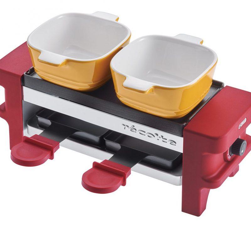 赤のrécolte「ラクレット&チーズフォンデユメーカー メルト」