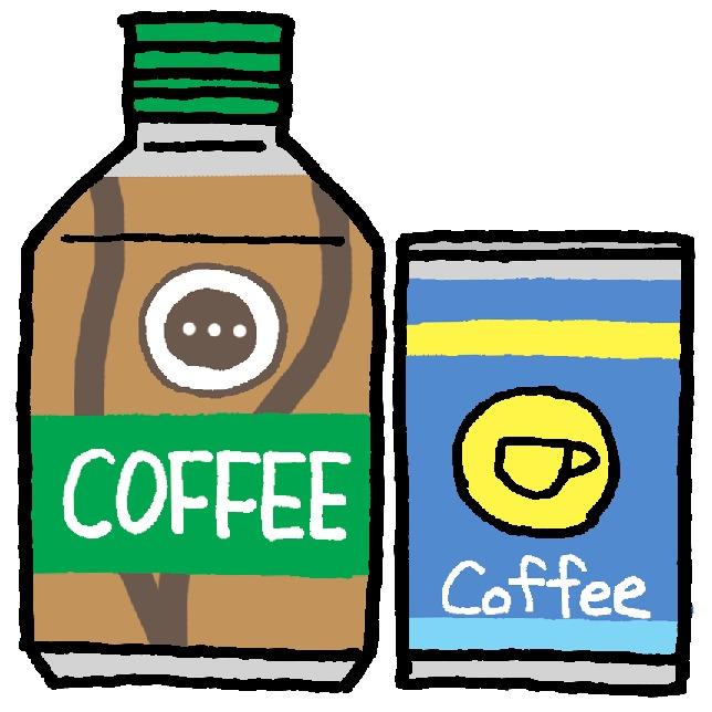 缶コーヒーイラスト