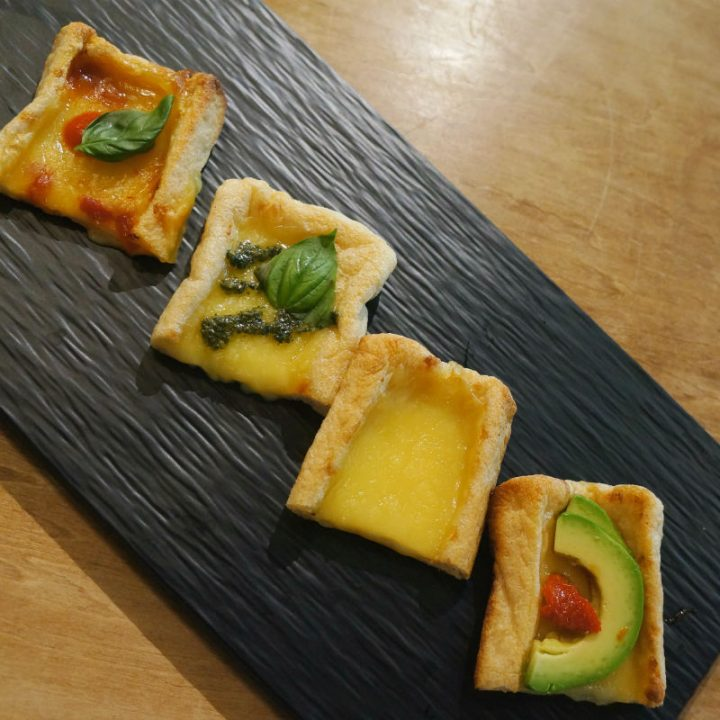 「BEYOND PIZZA」の調理例4種