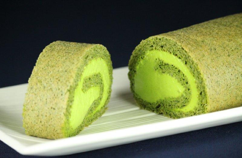 トシヘルシースイーツの低糖質ロールケーキ