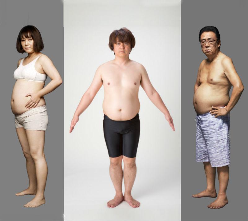 ライザップ挑戦前の佐藤仁美、YUKINARI、梅沢富美男