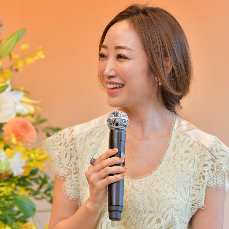 美容家の神崎恵さん