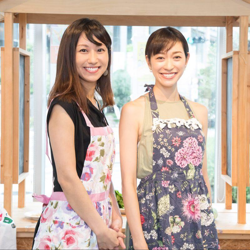 熊澤枝里子さんと酒井千佳さん