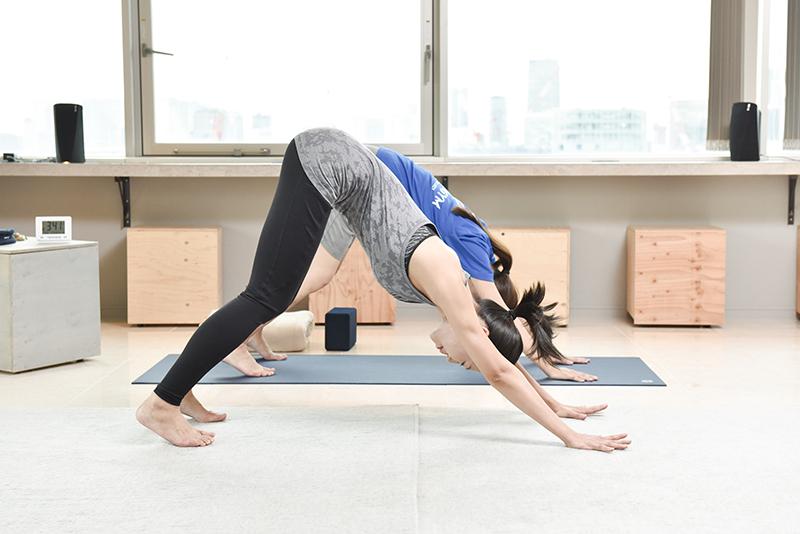 ZERO GYMの松尾伊津香さんがトレーニング