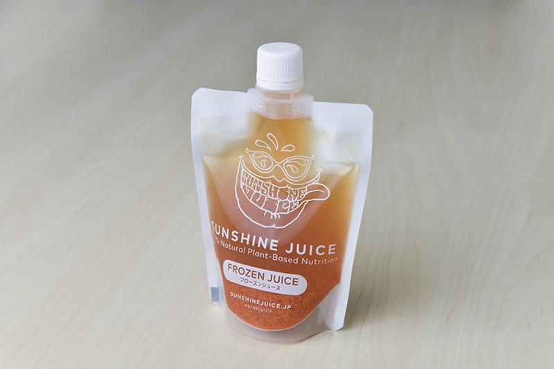 コールドプレスジュース『SUNSHINE JUICE』