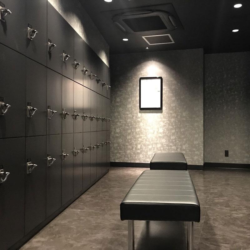 『EXPA(エクスパ)』のロッカールーム