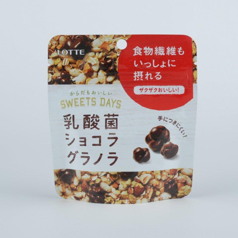 『乳酸菌ショコラ グラノラ モバイルパウチ』